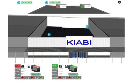 Instalation Kiabi